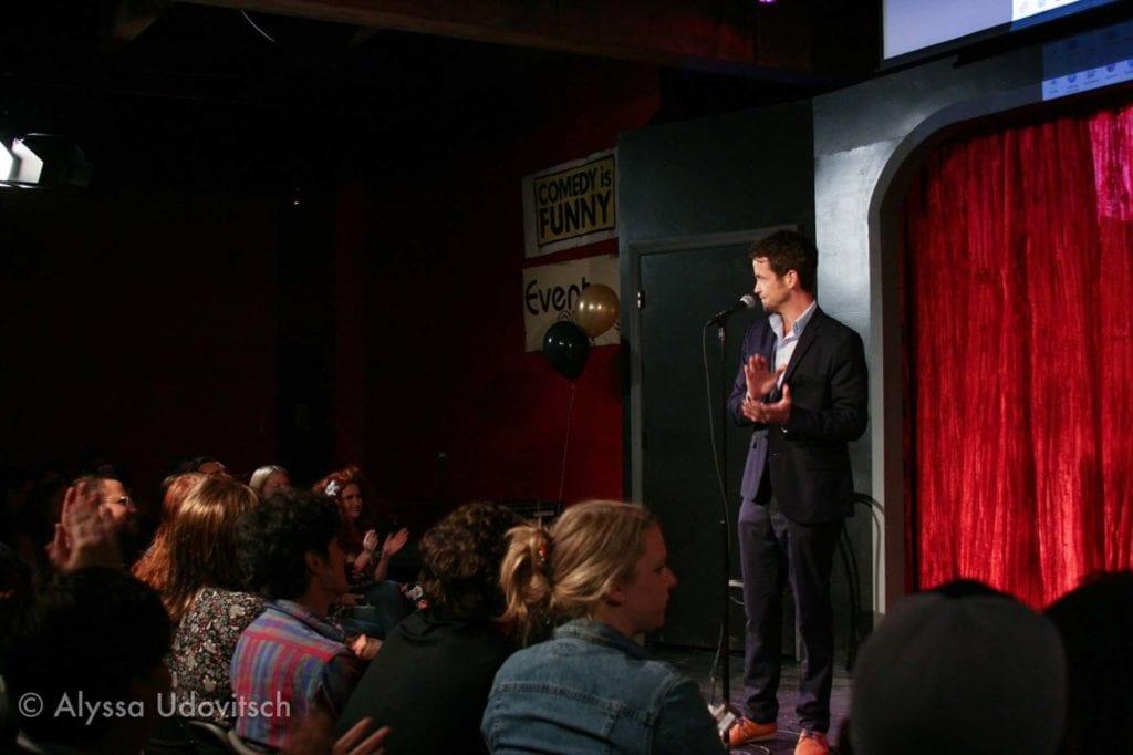 Hosting Third Coast Comedy Club's First Anniversary Show