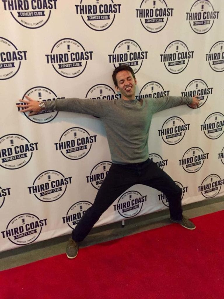 On The Red Carpet At Third Coast Comedy Club