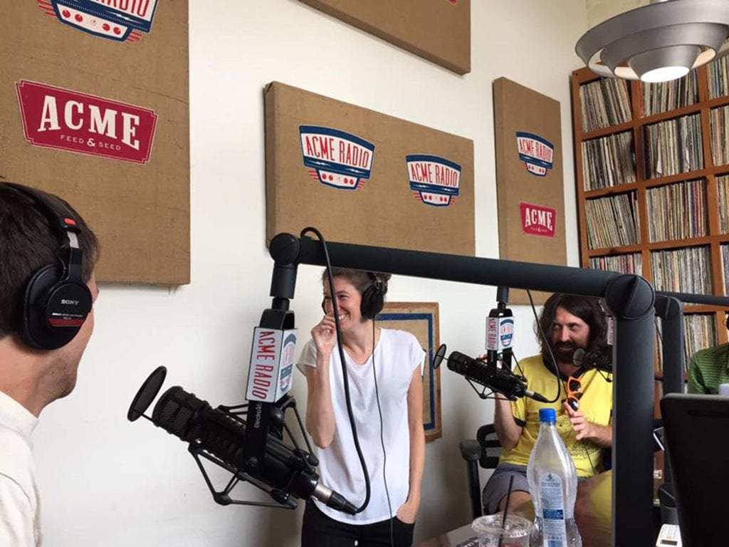Performing On Acme Radio With Allison Summers And Patrick Shaffner Of The Third Coast Mainstage