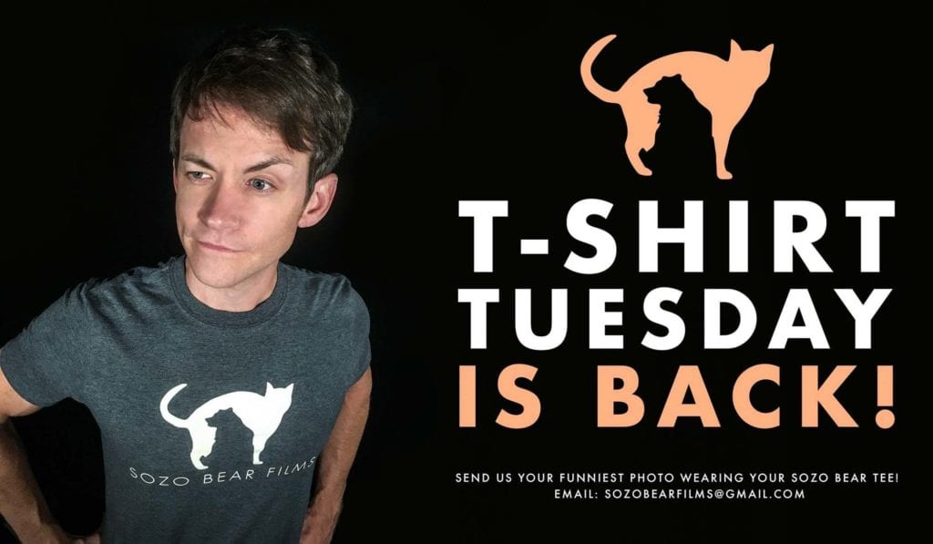 Sozo Bear's T Shirt Tuesday