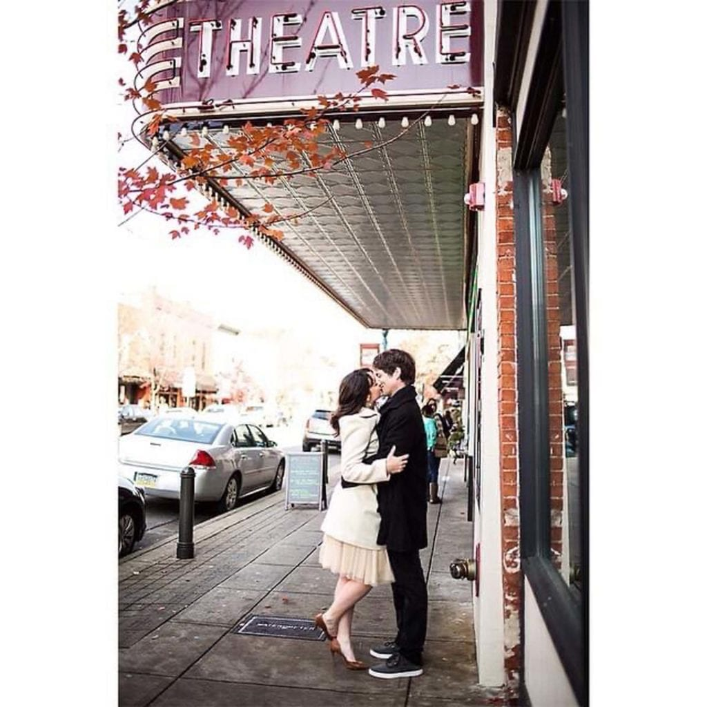 Very Appropriate Engagement Photo